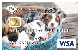 Puppies Debit Card Design
