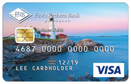 Light House Debit Card Design