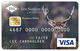 Buck Deer Debit Card Design
