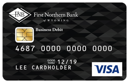 Black Diamond Pattern Debit Card Design